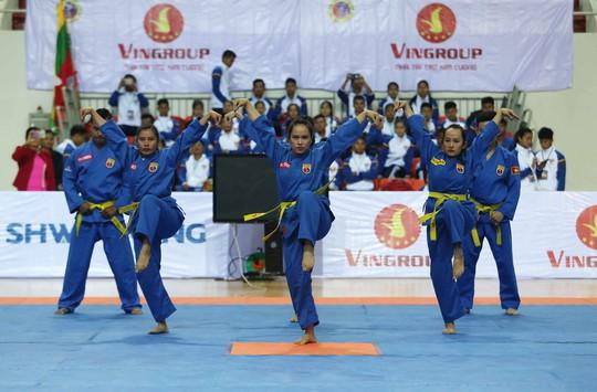 Ngắm các nữ võ sĩ Vovinam Đông Nam Á - Ảnh 4.