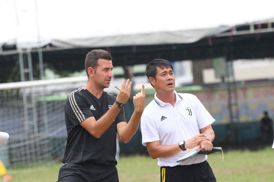 Quyết tâm của Học viện Juventus Việt Nam - Ảnh 1.