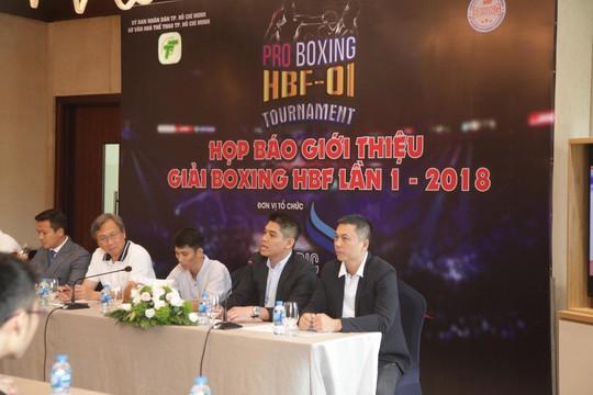 Giải boxing bị tuýt còi vì họp báo lậu - ảnh 1