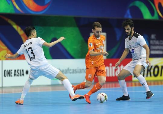 Clip: Thái Sơn Nam giành ngôi á quân châu Á 2018 trong tiếc nuối - Ảnh 1.