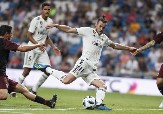 Đè bẹp AC Milan, Real Madrid mở đại tiệc ở Bernabeu - Ảnh 4.