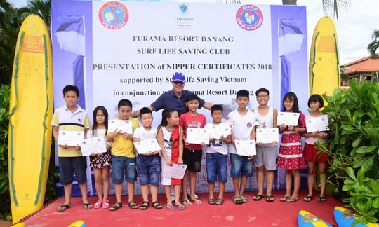 Trao bằng cứu hộ nhí Nippers 2018 tại Furama Resort Đà Nẵng - Ảnh 2.