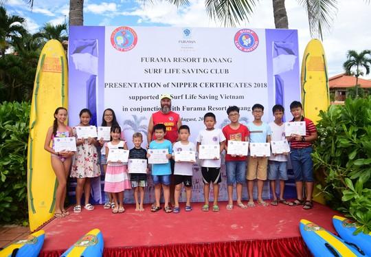 Trao bằng cứu hộ nhí Nippers 2018  tại Furama Resort Đà Nẵng - Ảnh 3.
