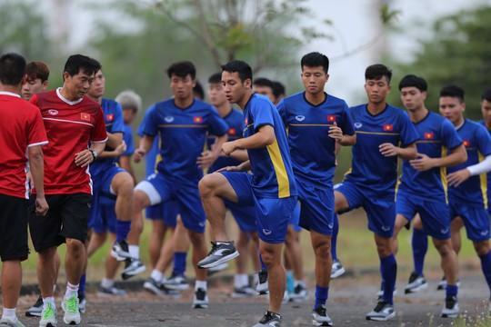 Olympic Việt Nam không phòng ngự tiêu cực - Ảnh 1.
