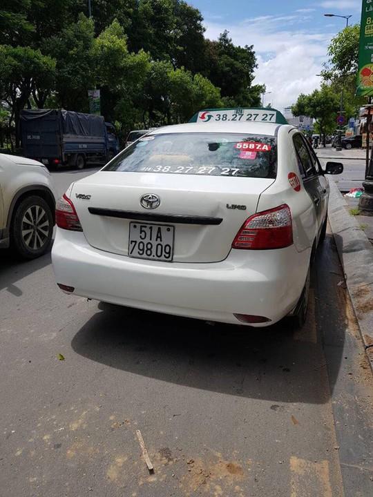 Nữ hành khách tố tài xế taxi Vinasun - Ảnh 1.