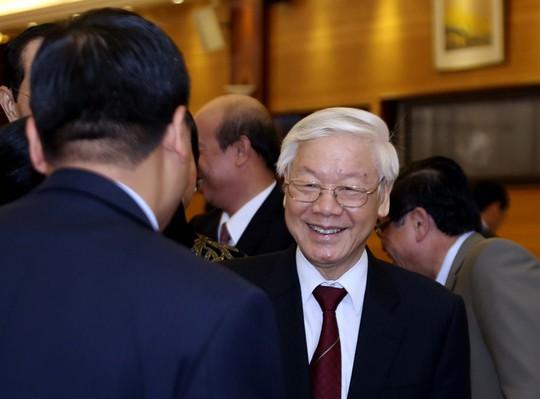 Tổng Bí thư dự khai mạc hội nghị ngoại giao - Ảnh 3.