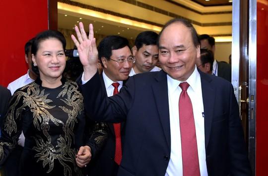 Tổng Bí thư dự khai mạc hội nghị ngoại giao - Ảnh 4.