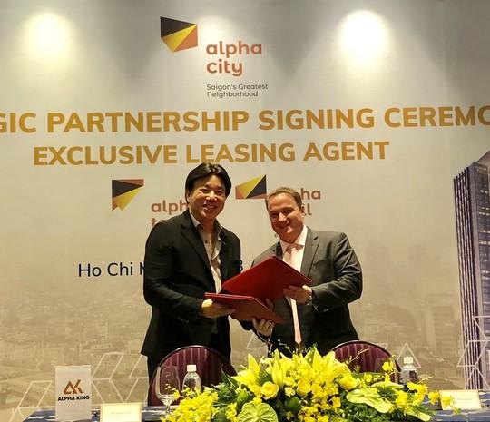 Savills Việt Nam cung cấp dịch vụ độc quyền dự án Alpha Town - Ảnh 1.