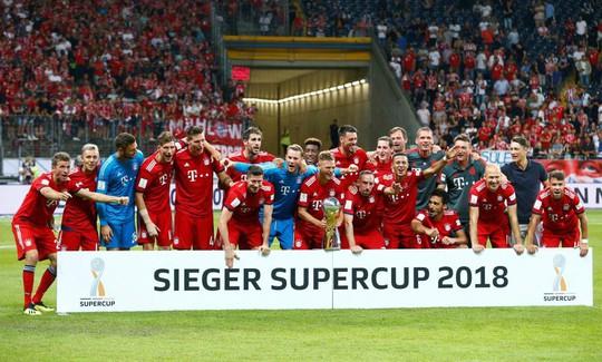 Chùm ảnh Bayern Munich giành chức vô địch Siêu cúp Đức - ảnh 9