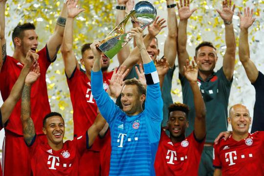 Chùm ảnh Bayern Munich giành chức vô địch Siêu cúp nước Đức - Ảnh 8.