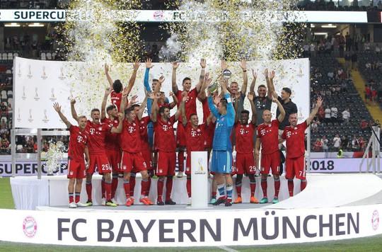 Chùm ảnh Bayern Munich giành chức vô địch Siêu cúp Đức - ảnh 7