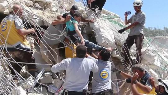 Syria: Nổ hầm vũ khí, 39 người thiệt mạng - ảnh 4