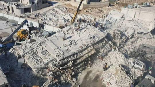 Syria: Nổ hầm vũ khí, 39 người thiệt mạng - ảnh 2