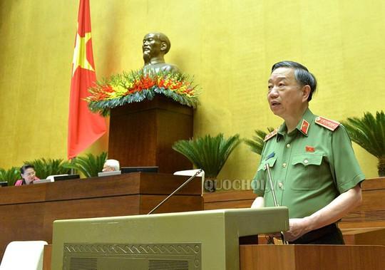 Bộ trưởng Tô Lâm đăng đàn trả lời chất vấn chiều nay 13-8 - ảnh 1