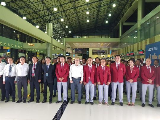 Đại quân thể thao Việt Nam đã có mặt tại Indonesia - Ảnh 1.