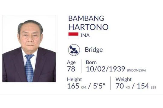 Bambang Hartono: Tỉ phú mơ tranh tài ở ASIAD 18 - Ảnh 1.