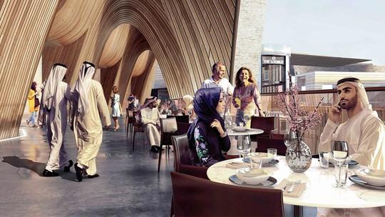 Dự án trung tâm thương mại 2 tỉ USD ở Dubai có những gì? - Ảnh 7.