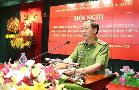 Tướng Nguyễn Duy Ngọc làm Cục trưởng Cục Điều tra tội phạm về tham nhũng, kinh tế, buôn lậu - Ảnh 3.