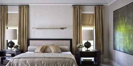 Phòng ngủ cũ kỹ lột xác nhờ mẫu rèm cửa mới nhất - Ảnh 3.