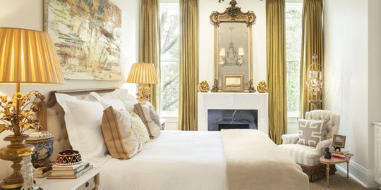 Phòng ngủ cũ kỹ lột xác nhờ mẫu rèm cửa mới nhất - Ảnh 4.