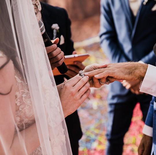 Đám cưới trên lưới giăng qua 2 vách núi cao hơn 100m! - Ảnh 6.
