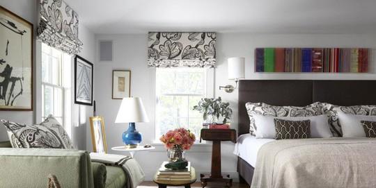 Phòng ngủ cũ kỹ lột xác nhờ mẫu rèm cửa mới nhất - Ảnh 7.