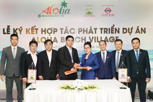 Thiên Minh hợp tác cùng Tập đoàn Việt Úc phát triển dự án Aloha Beach Village - Ảnh 1.