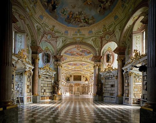 Mê mẩn trước những thư viện đẹp nhất thế giới - Ảnh 1.