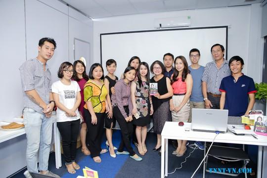 Giao lưu cùng diễn giả - tác giả Trần Nguyễn Ngọc Trang - Ảnh 4.