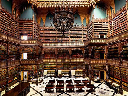 Mê mẩn trước những thư viện đẹp nhất thế giới - Ảnh 6.