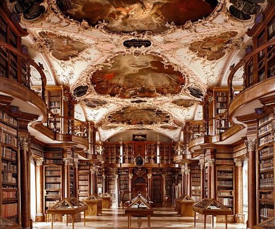 Mê mẩn trước những thư viện đẹp nhất thế giới - Ảnh 7.