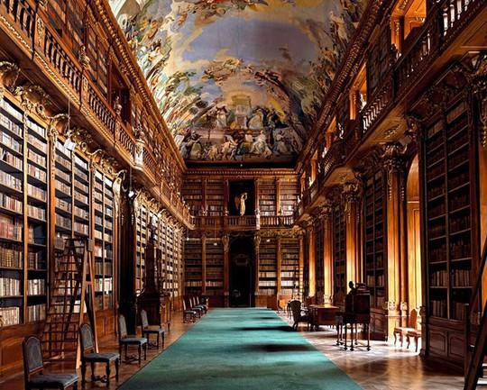 Mê mẩn trước những thư viện đẹp nhất thế giới - Ảnh 10.