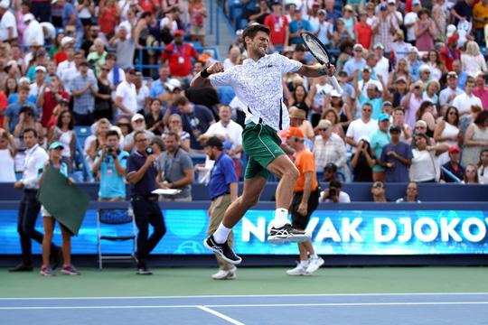 Clip Djokovic tạo kỳ tích khi vô địch Cincinnati Open 2018 - Ảnh 4.