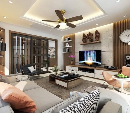 Mê mẩn với thiết kế căn hộ chung cư 80m2 - Ảnh 2.