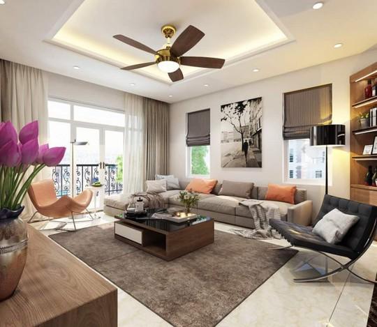 Mê mẩn với thiết kế căn hộ chung cư 80m2 - Ảnh 3.
