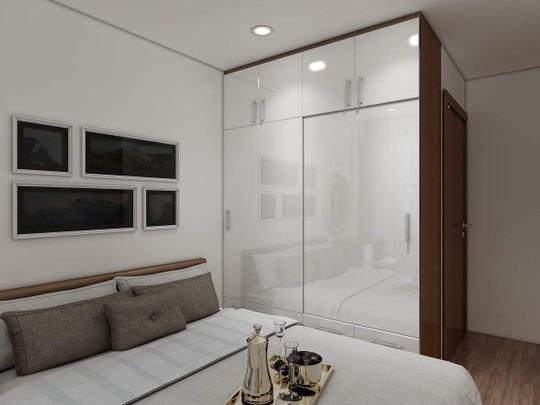 Mê mẩn với thiết kế căn hộ chung cư 80m2 - Ảnh 6.