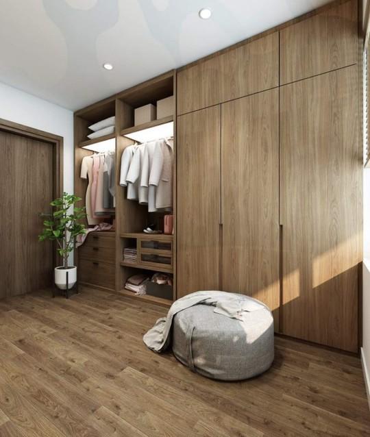 Mê mẩn với thiết kế căn hộ chung cư 80m2 - Ảnh 7.