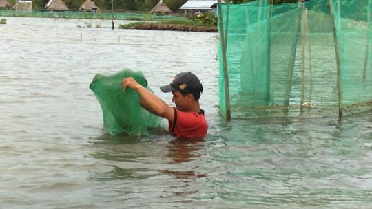 Khai thác nguồn lợi thủy sản mùa nước nổi mang tính tận diệt - Ảnh 5.