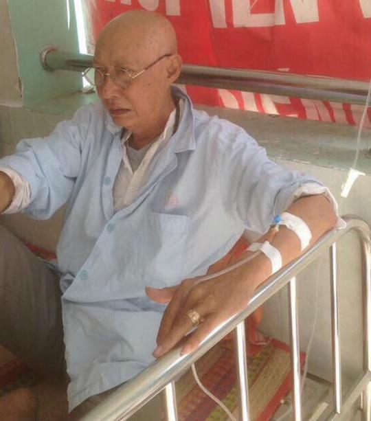 Diễn viên Lê Bình xạ trị vì ung thư phổi - Ảnh 1.