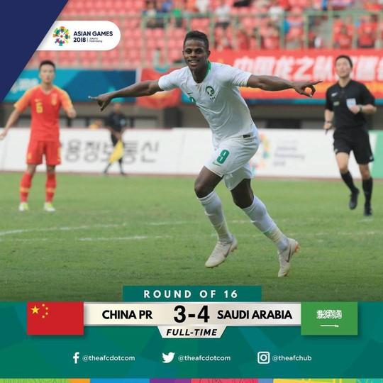 Chủ nhà Indonesia, Trung Quốc ngậm ngùi dừng bước ở vòng 1/8 ASIAD - Ảnh 2.