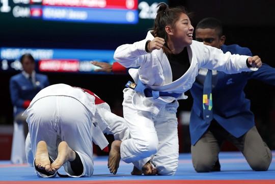Qua mặt đại gia Tây Á, Campuchia có HCV Á vận hội đầu tiên - Ảnh 1.