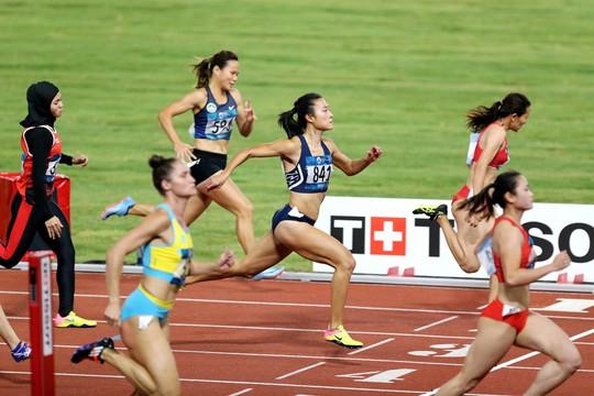 Trực tiếp ASIAD ngày 25-8: Tú Chinh thót tim vào bán kết cự ly 100m nữ - Ảnh 1.
