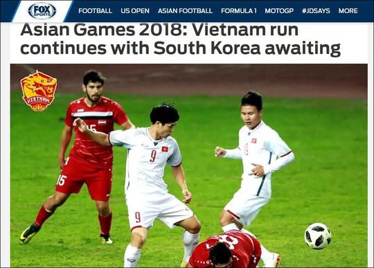 Truyền thông Hàn Quốc và báo nước ngoài khen ngợi Olympic Việt Nam - Ảnh 2.