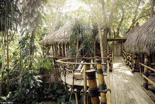Resort bằng tre, giá 147 triệu/đêm nơi gia đình Beckham nghỉ dưỡng - Ảnh 4.