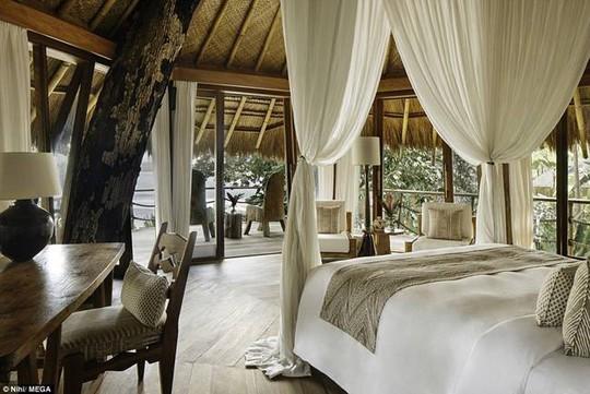Resort bằng tre, giá 147 triệu/đêm nơi gia đình Beckham nghỉ dưỡng - Ảnh 5.