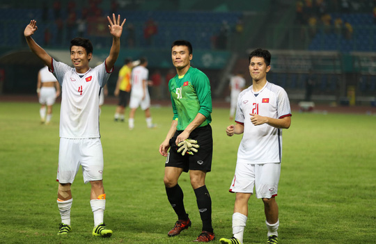 Olympic Việt Nam - Hàn Quốc 1-3: An ủi với siêu phẩm của Minh Vương - Ảnh 1.