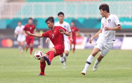 Olympic Việt Nam - Hàn Quốc 1-3: An ủi với siêu phẩm của Minh Vương - Ảnh 6.