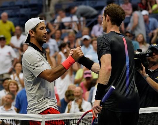 Andy Murray thua trận, tố đối thủ phạm quy - Ảnh 3.