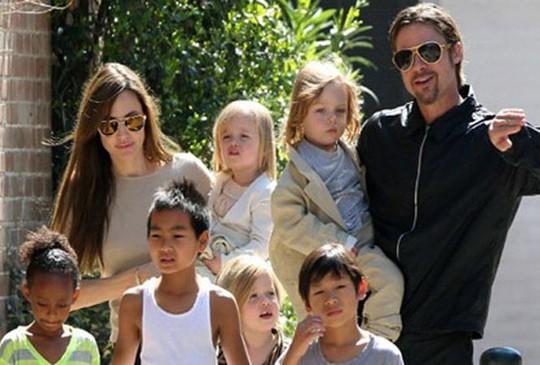 Cả sáu người con đều muốn sống cùng Brad Pitt? - Ảnh 2.