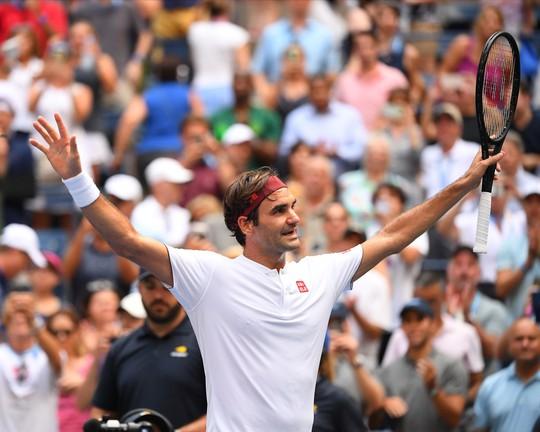 Clip: Djokovic, Federer tiếp bước Nadal vào vòng 3 US Open 2018 - Ảnh 5.